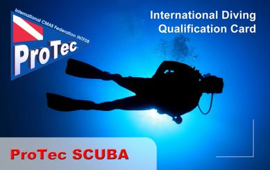 International Diving Qualification Card